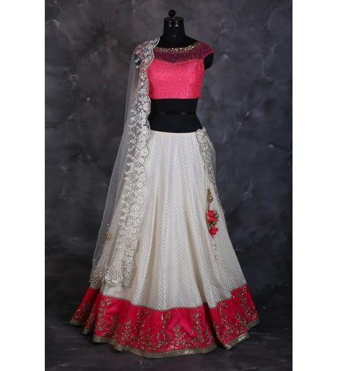 Chic and stylish lehenga designs. Availble on #kraftly