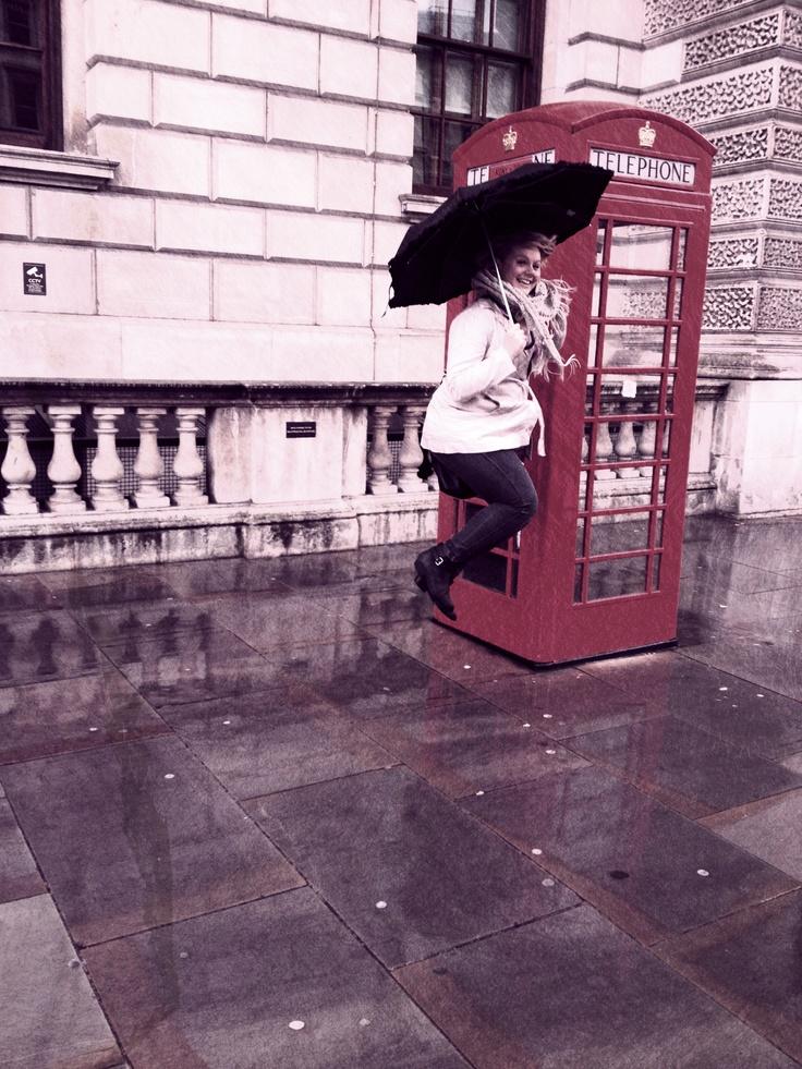 #London #Tourist #Telephone booth