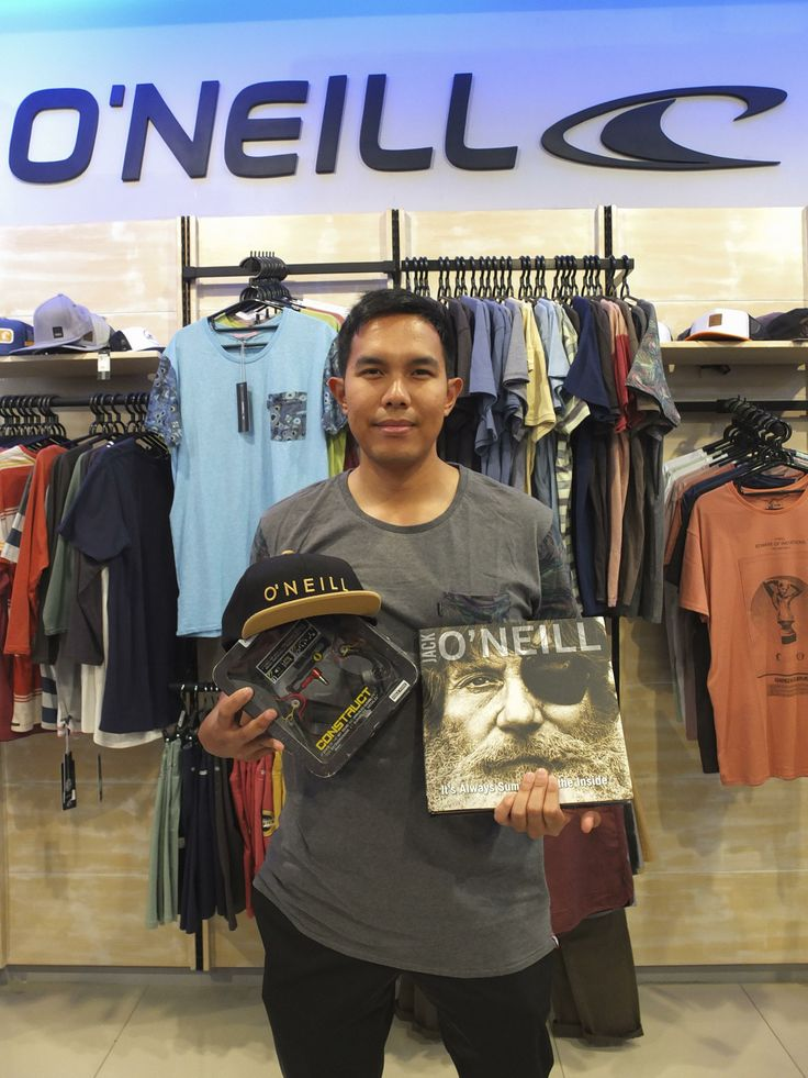 Big Congrats to Eko Bagus Riyadi for winning Rp 3,500,000 of rad O'Neill products at POINT BREAK.  We are still running this promo for one more month in The Goods Department stores. Just simply make a purchase of O'Neill goods in any 'The Goods Department' stores and have a chance to win Rp 3,500,000 of O'Neill products. The more purchases you make the greater your chance to win.   Go get it!! #oneillindo #pointbreakworld #thegoodsdeparment #jakarta #thisisindo #winwinwin