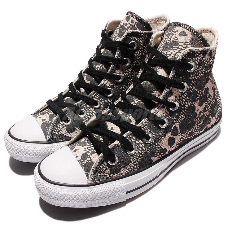 Converse Chuck Tylor All Star Material Hi Grey Beige Womens Casual Sheos 549632C