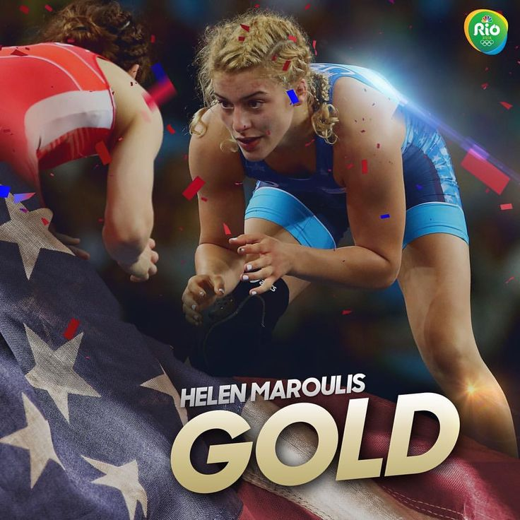 Helen Maroulis defeats 13x world champion Saori Yoshida for @teamusa's 1st gold medal in women's wrestling!