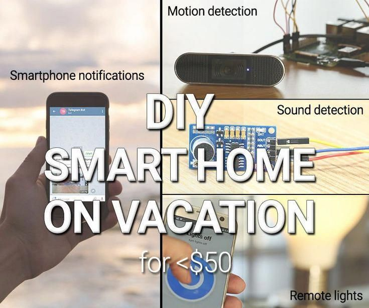Diy Self Monitored Smart Home For Vacation Time 9 Steps With