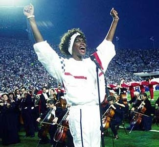 One of the best versions of the National Anthem - Whitney Houston sings the national anthem at Super Bowl XXV