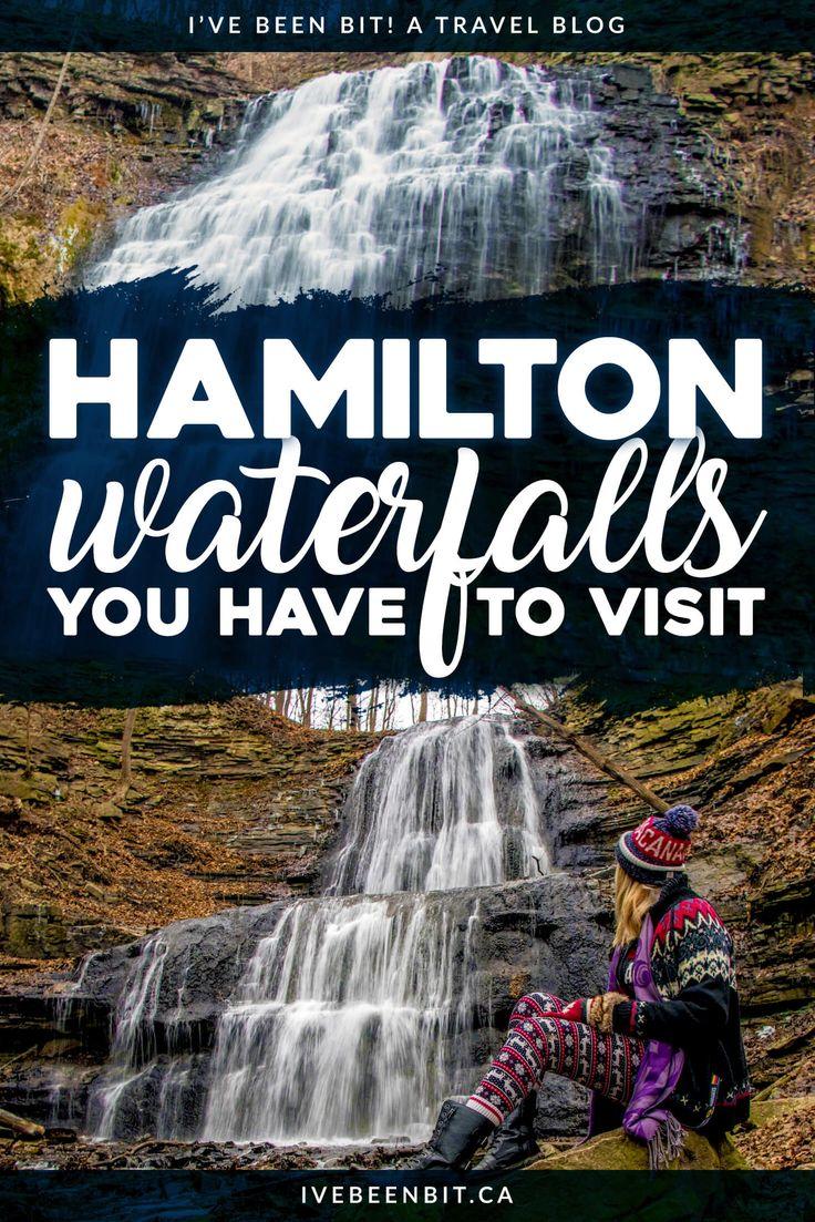Hamilton, Ontario Waterfalls You Should Go to