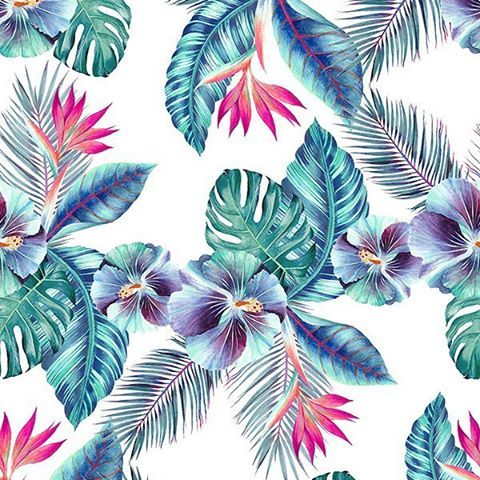 Magic Hawaii by Shock Rider Creative Studio → https://patternbank.com/shock