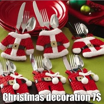 Christmas decoration  Great Christmas set. Thanks to your table will look gorgeous. Create a unique atmosphere thanks to the beautiful decorations. https://www.cosmopolitus.com/vyzdoba-priborov-stolovanie-p-240788.html?language=en&pID=240788 #Holy #Christmas #dinner #table #Christmas #Eve #atmosphere #climate #decoration #cutlery