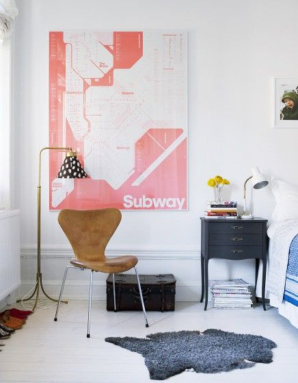 .Wall Art, Subway Signs, Subway Art, Interiors, Wall Prints, Bedrooms, Grey Room, White Wall, Subway Maps