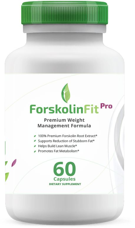 ForskolinFit Pro Free Trial Offer. This all-natural supplement can help you lose weight at a faster rate than with just diet and exercise. With the added metabolic benefits of Calcium, Chromium and Potassium, you too can burn off that stubborn belly fat in a matter of weeks. Clinical studies show that individuals are able to lose 2 to 3 times more weight by adding ForskolinFit Pro to their diet.