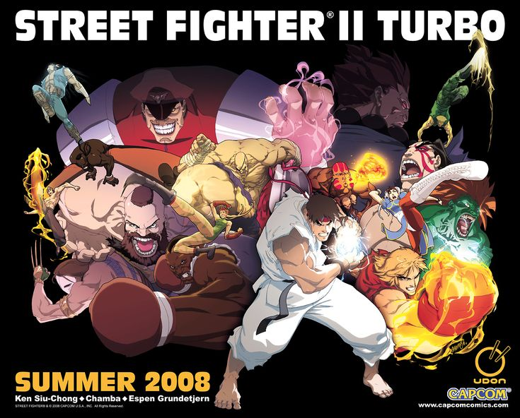 Street Fighter by Udon Crew