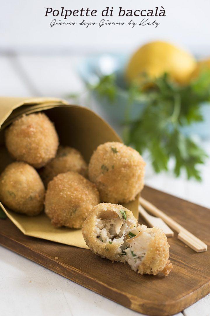 Polpette di baccalà ricetta tipica della regione Marche