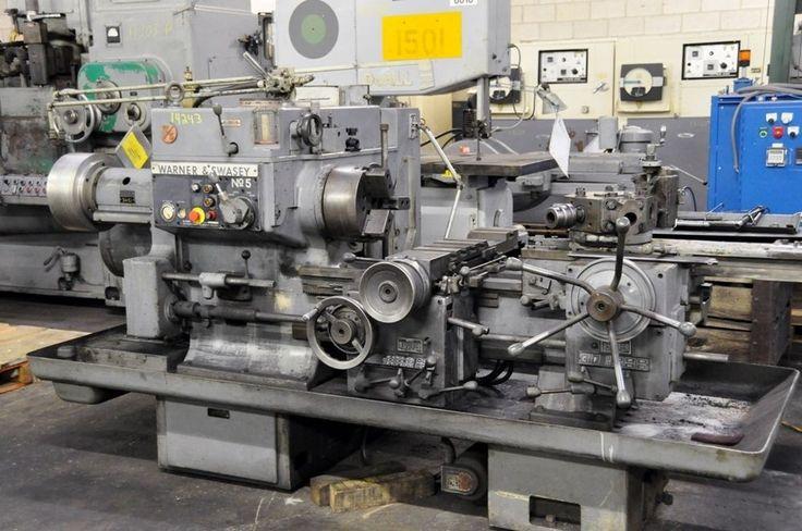 5 Warner Amp Swasey Ram Type Turret Lathe Himes Machinery
