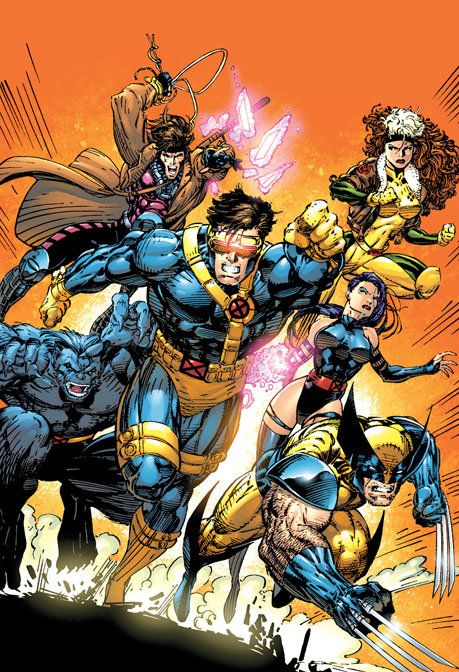 "Always the Xmen that I think of. ""X-Men Visionaries"" By Jim Lee - Limited Edition Giclée on Canvas"