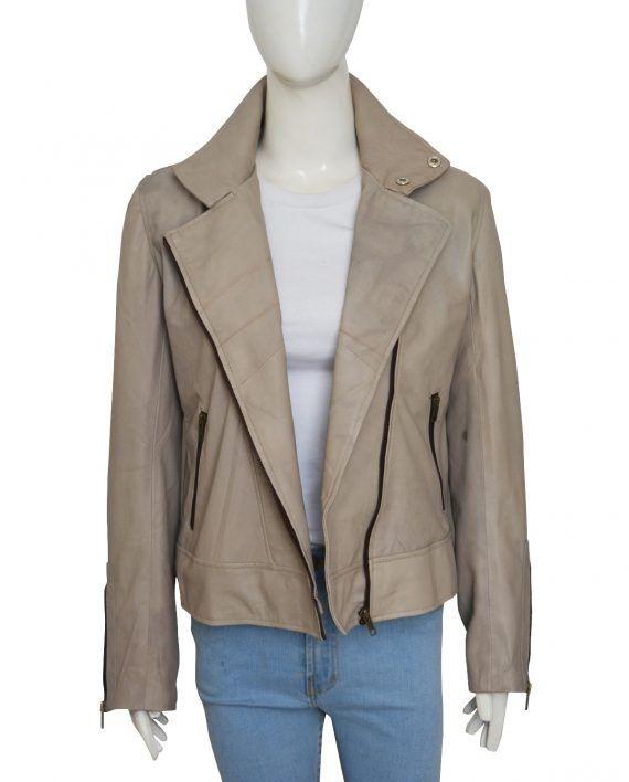 Lauren German Lucifer Chloe Decker Gray Stylish Jacket