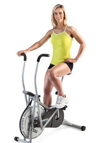 Exercise Bike Stationary Upright Workout Cycle Indoor Gym Fan Equipment Cardio #Weslo