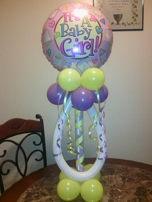 Table top balloon pacifier arches canopies