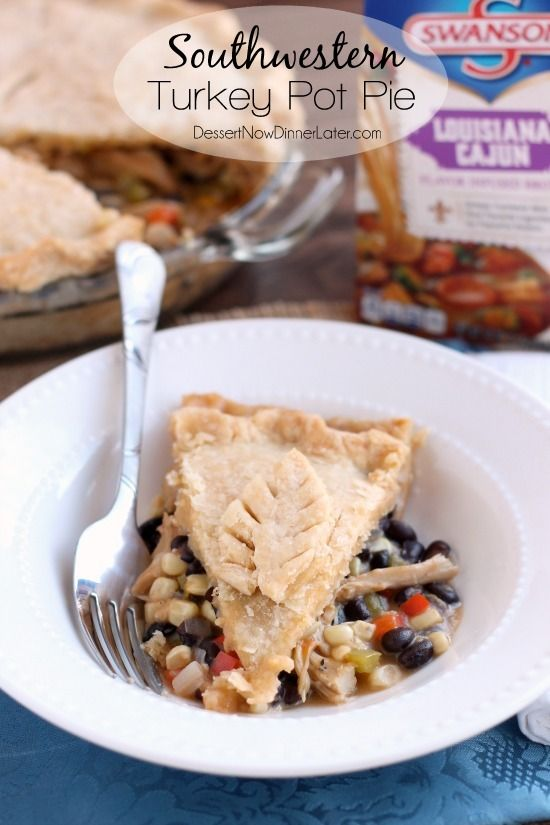 ... turkey-pot-pie/ #potpie #turkeypotpie #turkey #swanson #ad #