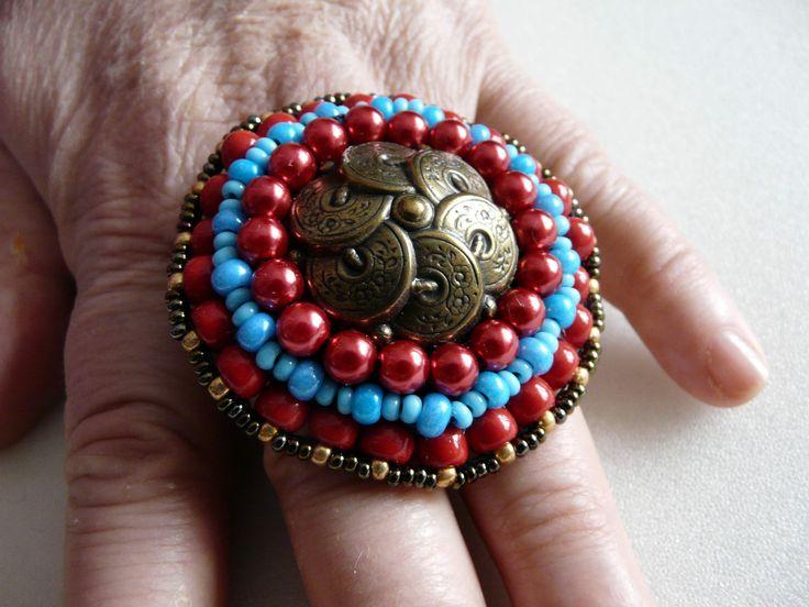 кольцо трайбл