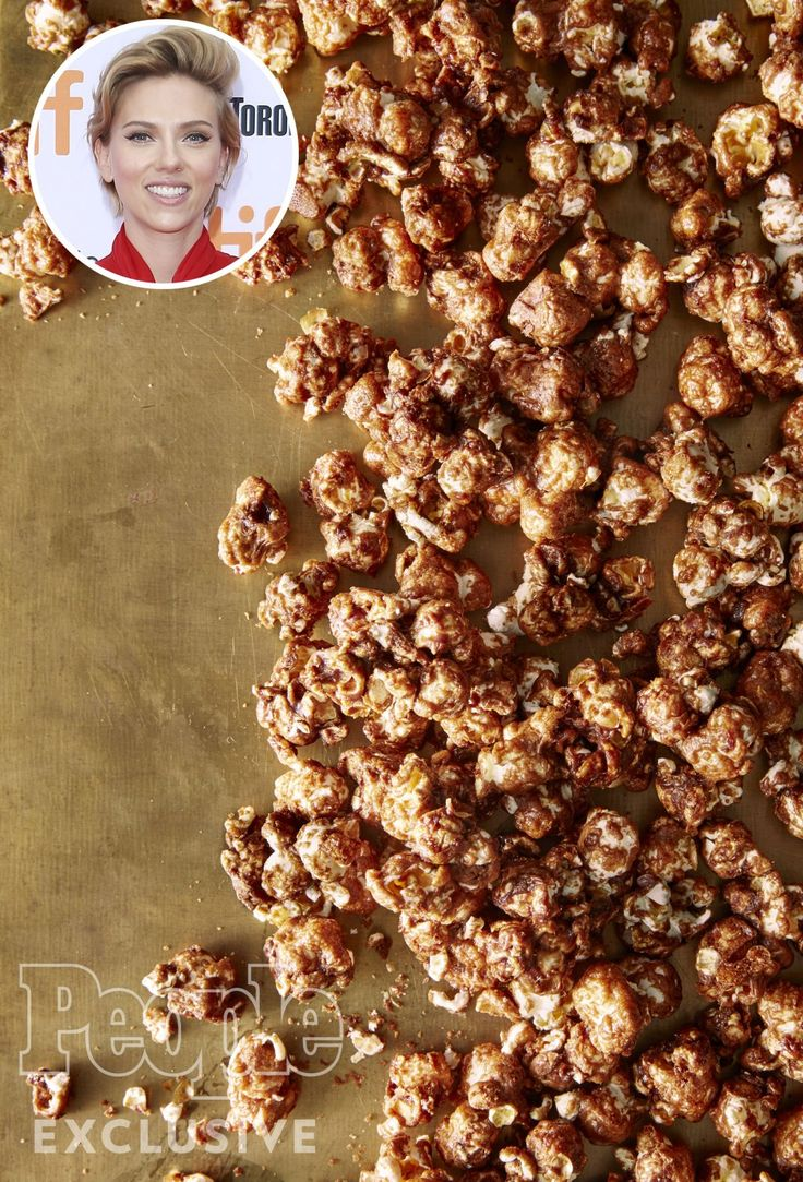 Make the 'Sweet and Salty' Recipe Scarlett Johansson Loves from Her Paris Popcorn Shop
