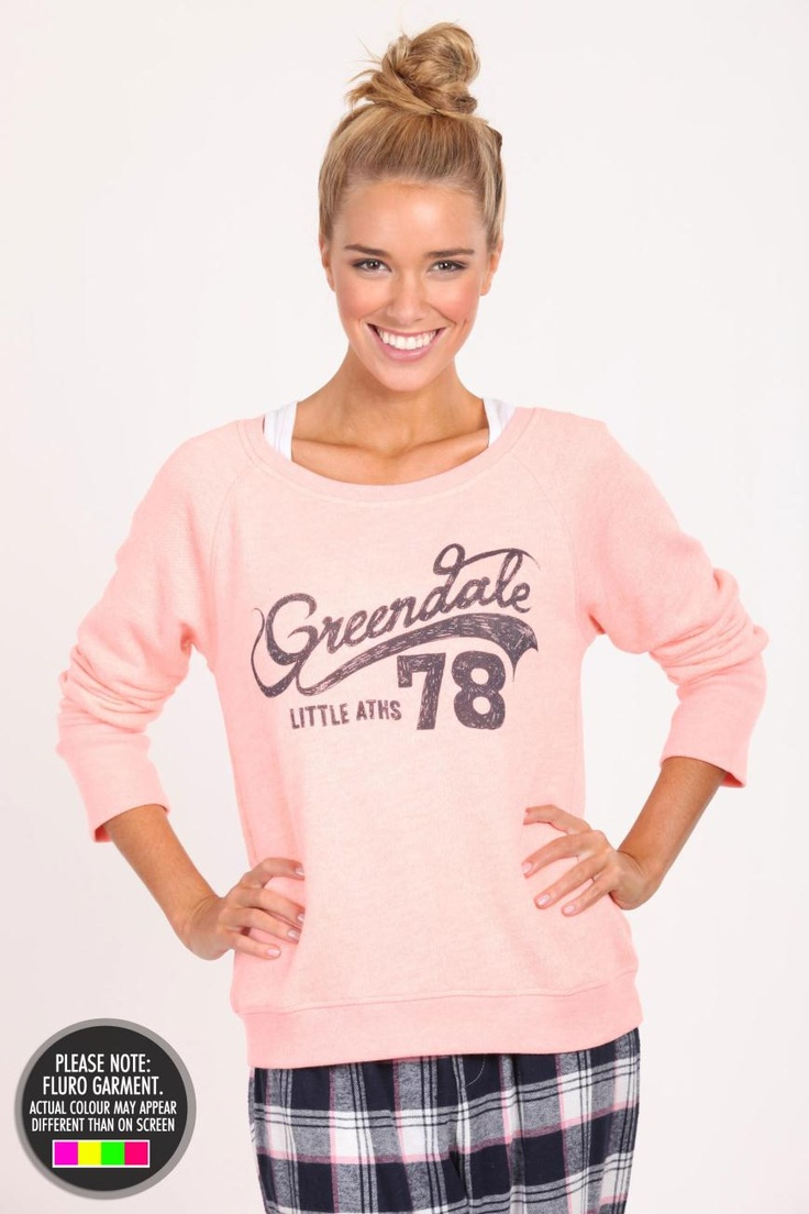 Greendale College print for Cotton On Body