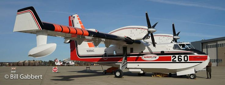 Aero-Flite will supply two CL-415 air tankers for one to five years.