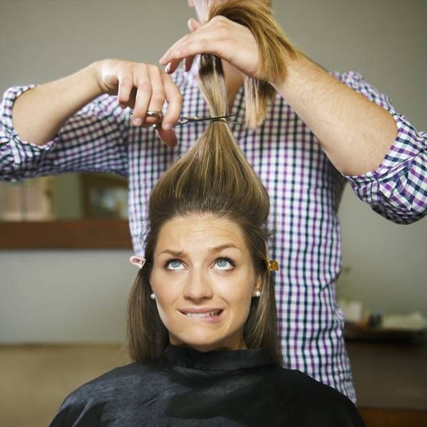 Separation? That's why a new hairstyle helps!
