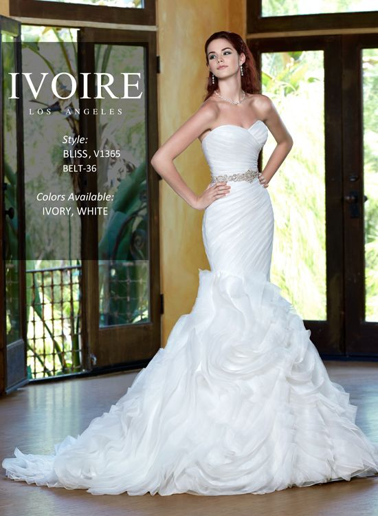 wedding dresses bridal gowns 2014 ivoire los angeles bliss