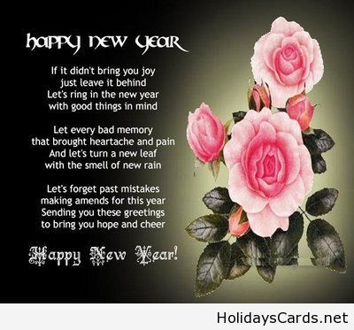 Best 25 happy new year poem ideas on pinterest new year for New year eve messages friends
