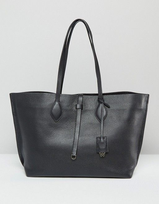 Whistles Regent Leather Tote Bag