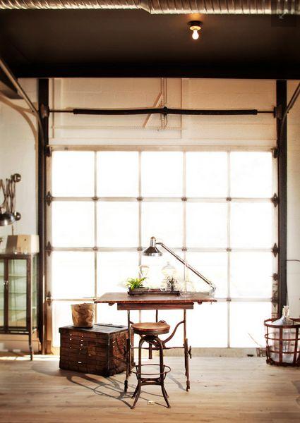 78 images about garage door on pinterest modern living for Garage office designs
