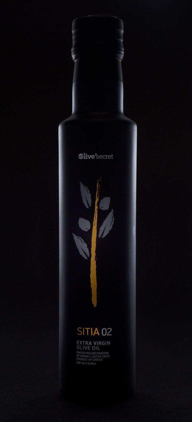 Sitia 02 Premium Extra Virgin Olive Oil.