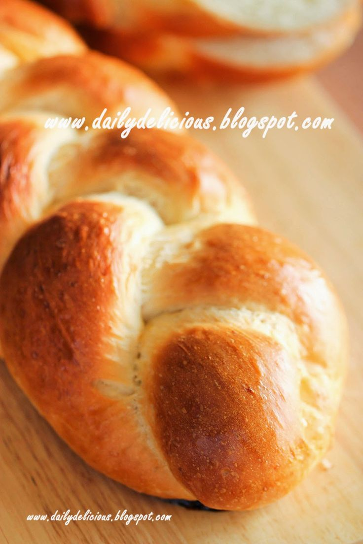 dailydelicious: Braided milk bread: Simple daily bread
