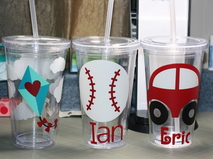silhouette cameo projects | Paper Creativity: Vinyl Tumblers - Silhouette Cameo