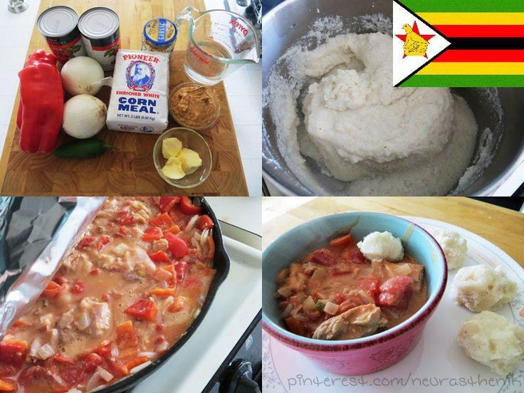 Authentic zimbabwe dovi with sadza balls recipe from for Cuisine zimbabwe