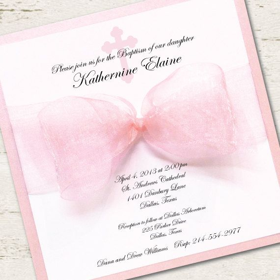 198 best Christening, Baptism Invitations images on Pinterest