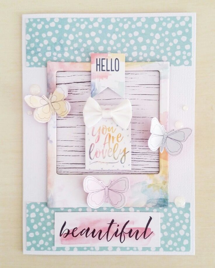 Beautiful birthday card by Amanda Baldwin featuring @cocoa_vanilla_studio Wild At Heart collection
