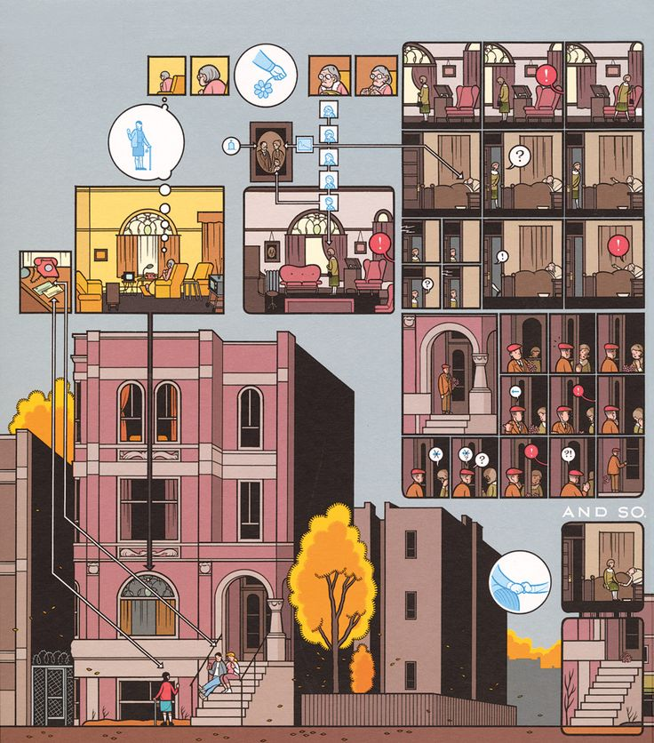 """""""A Triumph of the Comic-Book Novel"""" by Gabriel Winslow-Yost, New York Review of Books, Dec. 20, 2012 review of """"Building Stories"""" by Chris Ware"""