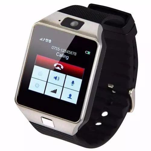 relógio digital com chip dz 09