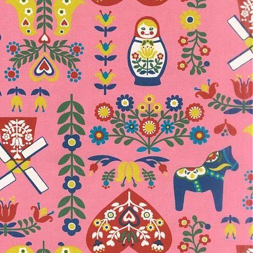 ModernPatchwork / Matryoshka Pink