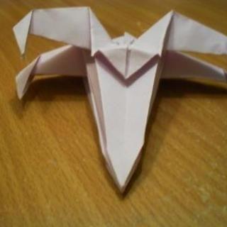 Origami Star Wars X-Wing Starfighter