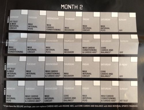 Ilates Monthly Calendar Results : Best insanity workout calendar ideas on pinterest