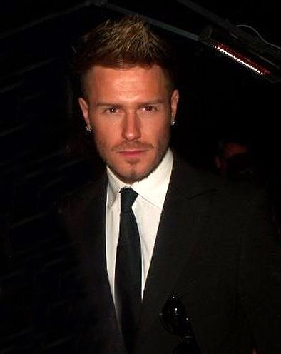 David Beckham- Celebrity Look A Like