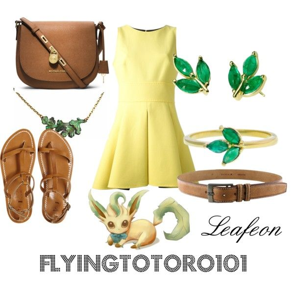 """""""Leafeon"""" by flyingtotoro on Polyvore"""