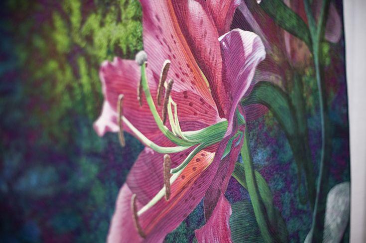 Art quilt - Visit the Creativ Festival with Maple Leaf Tours