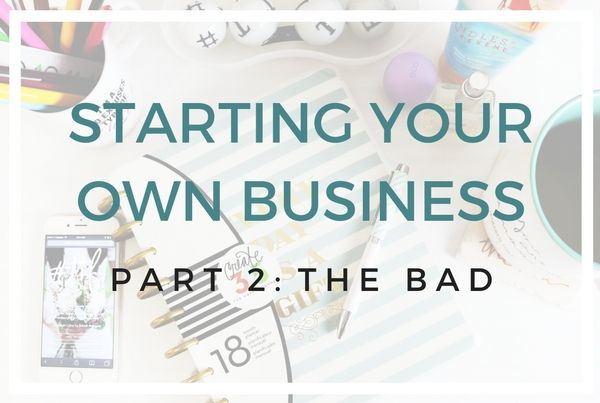STARTING YOUR OWN BUSINESS(1)