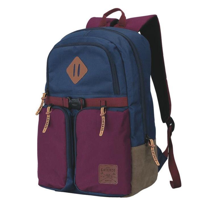 Tas Ransel Laptop / Backpack Casual Unisex Pria Wanita - ZN 006. Produk fashion handmade asal Bandung dengan bahan nyaman digunakan, desain trendy dan tidak pasaran. Membuat tampil percaya diri.   #cafewebstore #Catenzo #tas laptop #Tas Ransel