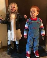 Chucky and Bride Homemade Costume