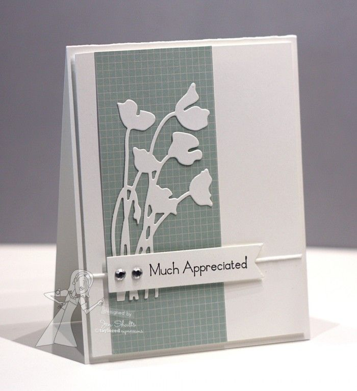 Taylored Expressions February Release Day: Stem Silhouette Dies! - deconstructing jen | handmade cards, sketches and tutorials