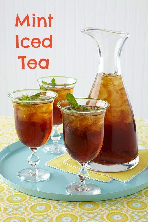 Easter recipes: Mint Iced Tea