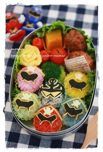 ゴーカイジャー6人勢揃いのお弁当&素顔の戦士♪|キミと一緒に ~太郎・小太郎・お弁当~ |Ameba (アメーバ)