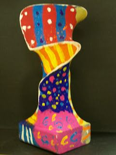 WHAT'S HAPPENING IN THE ART ROOM??  pantyhose sculptures and other great art project ideas